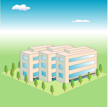 residency: Estates Stock Photo