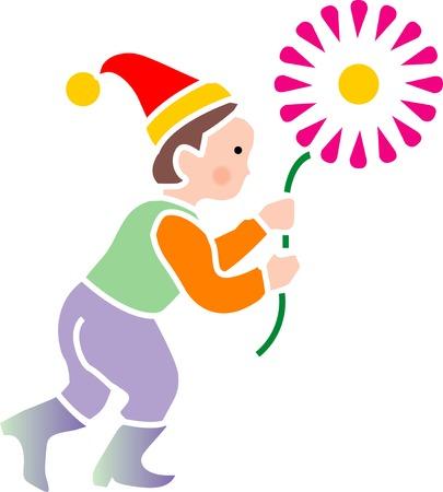 花と妖精 写真素材 - 47416631