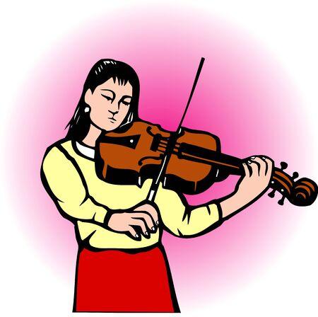 Violinist 写真素材