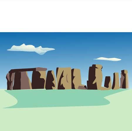 stone circle: Stone circle