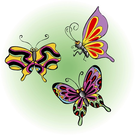 living thing: Butterfly