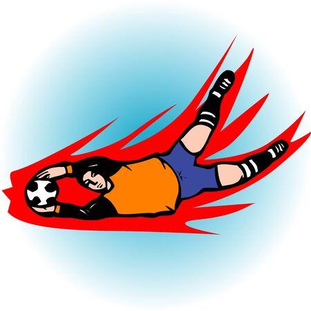 arquero de futbol: Portero