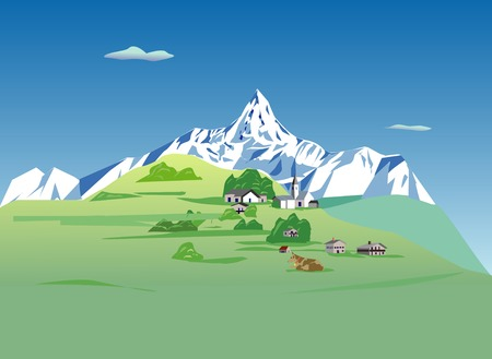points of interest: Alps