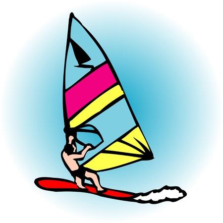ウィンド サーフィン 写真素材