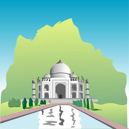 points of interest: Taj Mahal