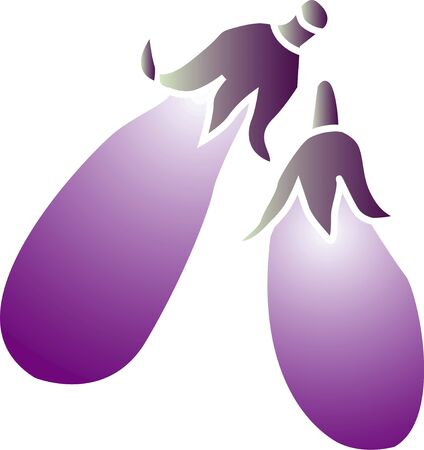 aubergine: Eggplant Stock Photo
