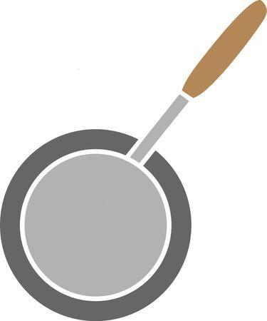 frying pan: Frying pan Stock Photo