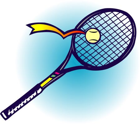tennis racket: Tennis racket Stock Photo