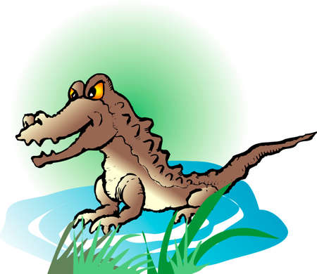 living organism: Crocodile