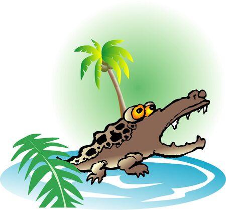 reptilian: Crocodile