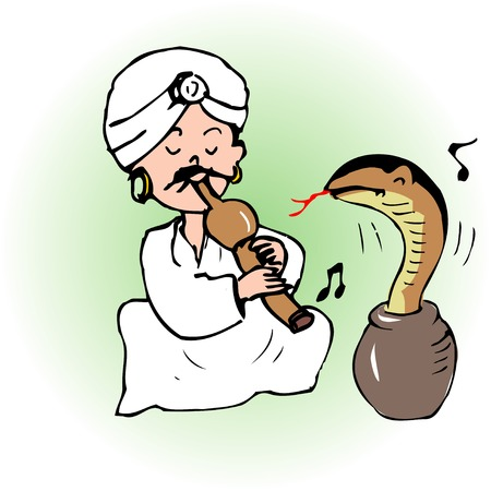 snake charmer: Snake charmer