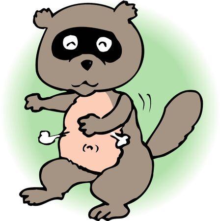mammalian: Raccoon dog