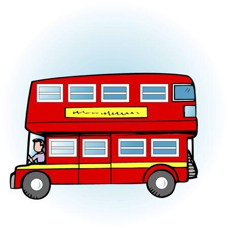 ロンドン 2 階建てバス
