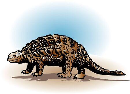 アン キロ恐竜 写真素材