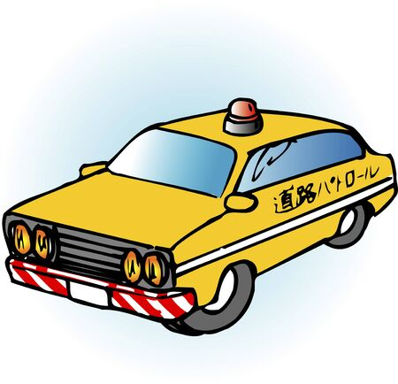 patrol: Road patrol car