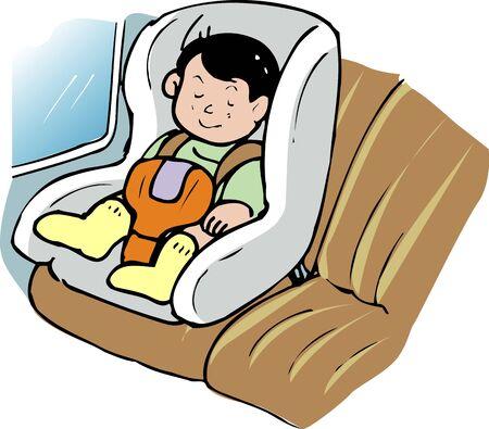 child safety: Child safety seat