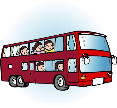 doubledecker: Double-decker bus Stock Photo