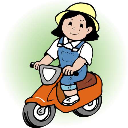 childcare: Tricycle