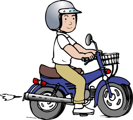 moped: Moped motorcycle