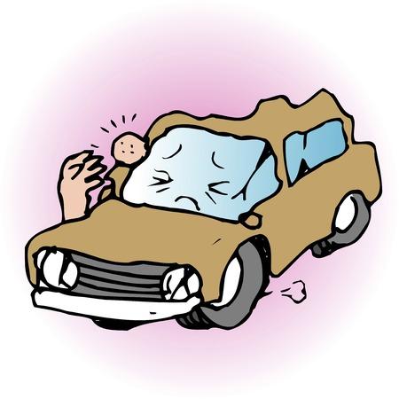 car: Accident car