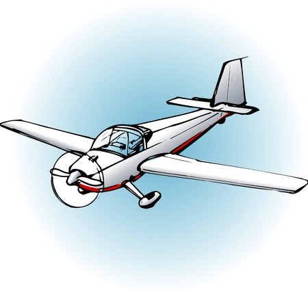 glider: Motor glider SF25C Stock Photo