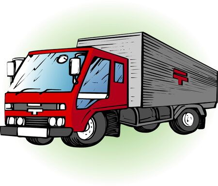 postal: Postal truck