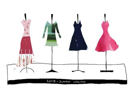 Frühlings- und Sommerkollektion Standard-Bild - 47679491