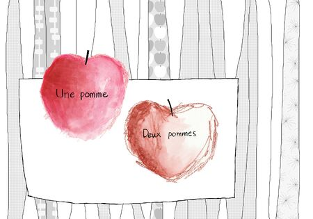 provisions: Two apple
