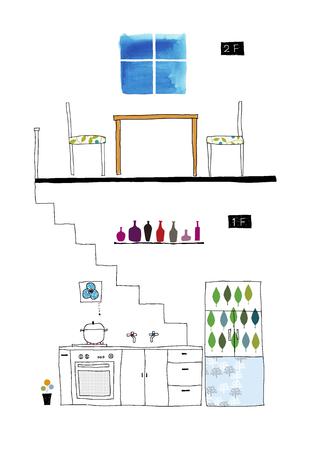 floor plans: 2-story floor plans