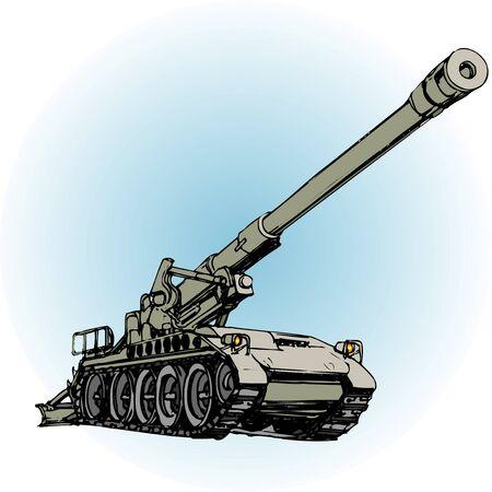 automatic: Automatic flow bullet gun