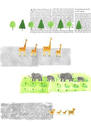 動物の行進 写真素材