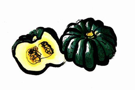 provisions: Pumpkin Stock Photo