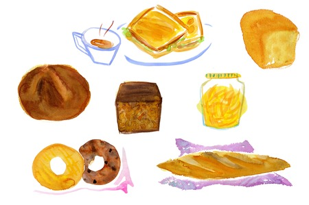 snack time: Bread