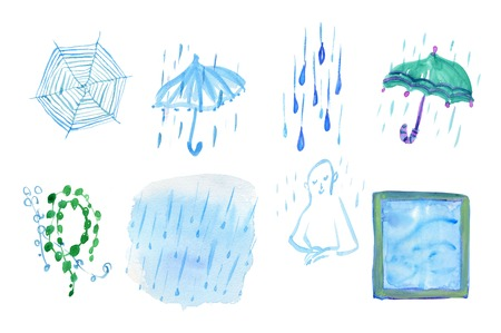 rain window: Natural