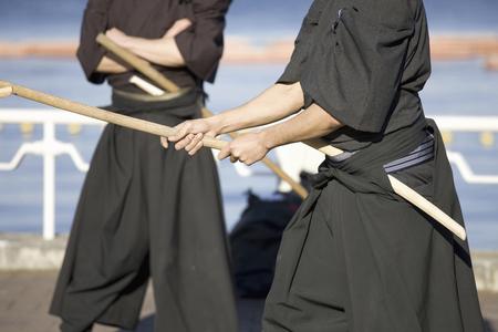 sword fighting: Sword fighting