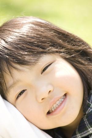 classwork: Laughing girl