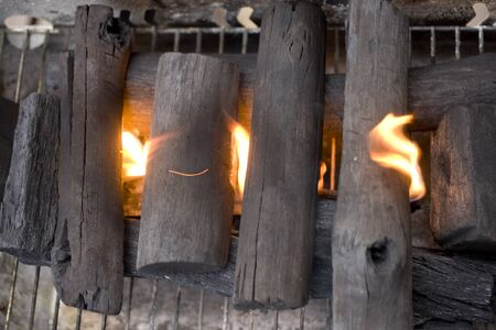 charcoal: Charcoal fire image