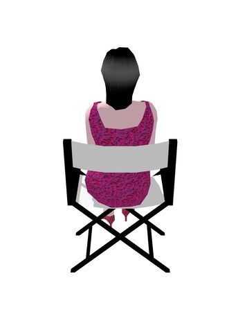 director chair: Women sit in the Director Chair