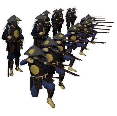 troop: Ashigaru