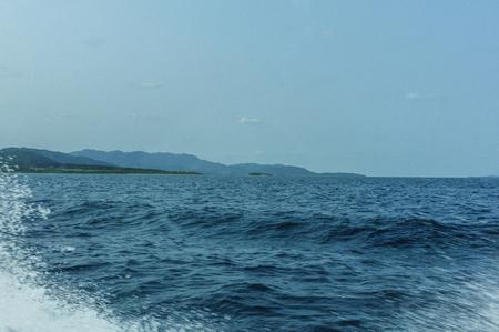 maritime: Maritime to Kohamajima Stock Photo