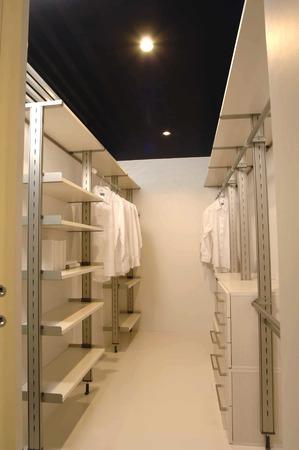 closet: Large closet storage