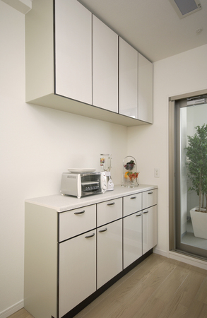 the shelf: Kitchen shelf