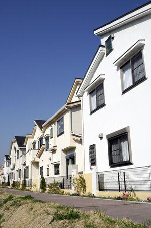 housing development: Housing Development Stock Photo