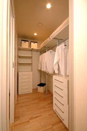 closet: Closet and storage room Stock Photo