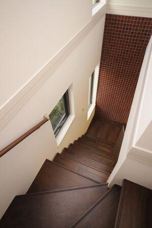 skylights: Stairs and windows