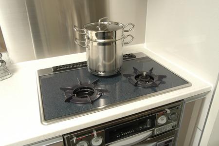 stove: Gas stove Stock Photo
