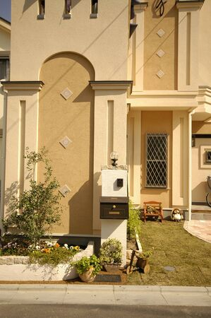 interphone: Entrance and small garden