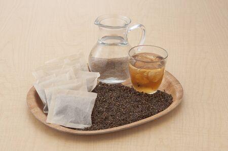 大麦紅茶セット 写真素材 - 46220375