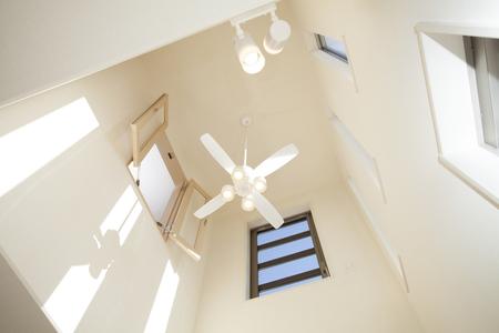 ceiling fan: Atrium ceiling fan