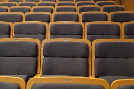 ホールの観客 写真素材